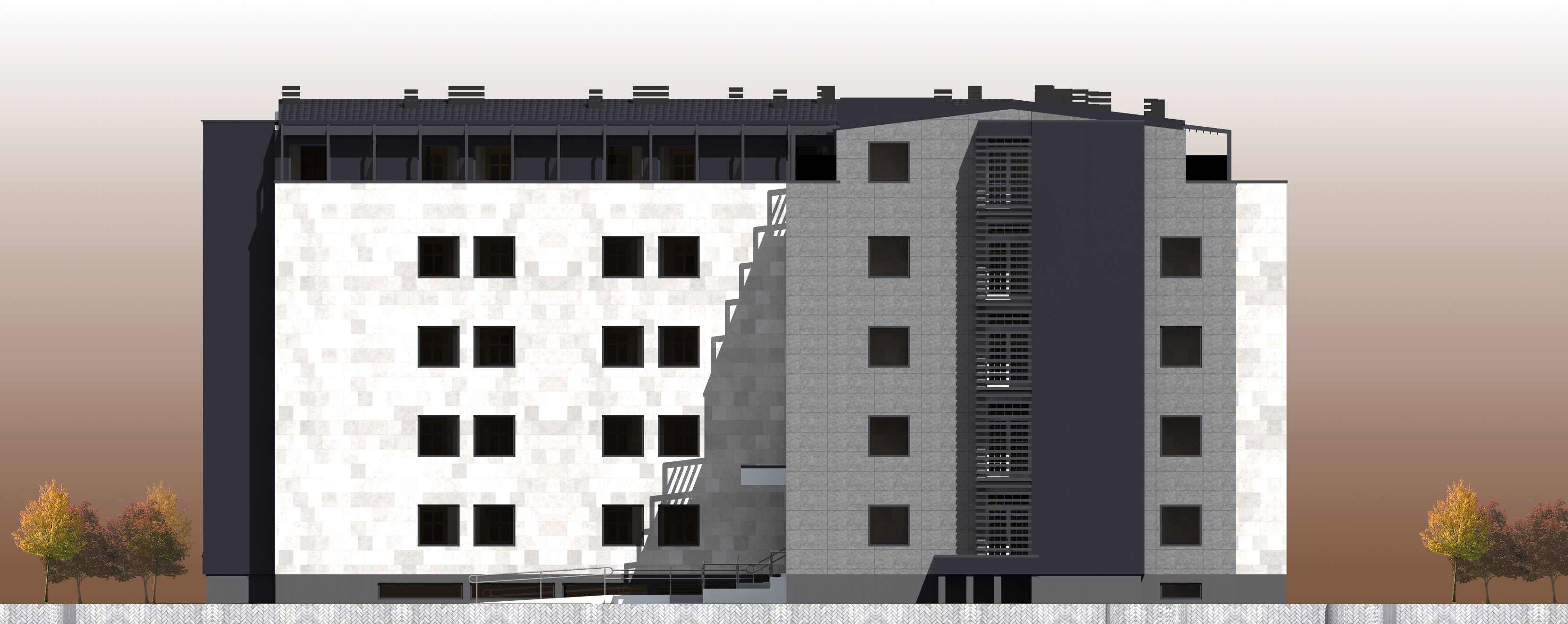 Mitrovica Faculties Construction Phase IV - Dormitory