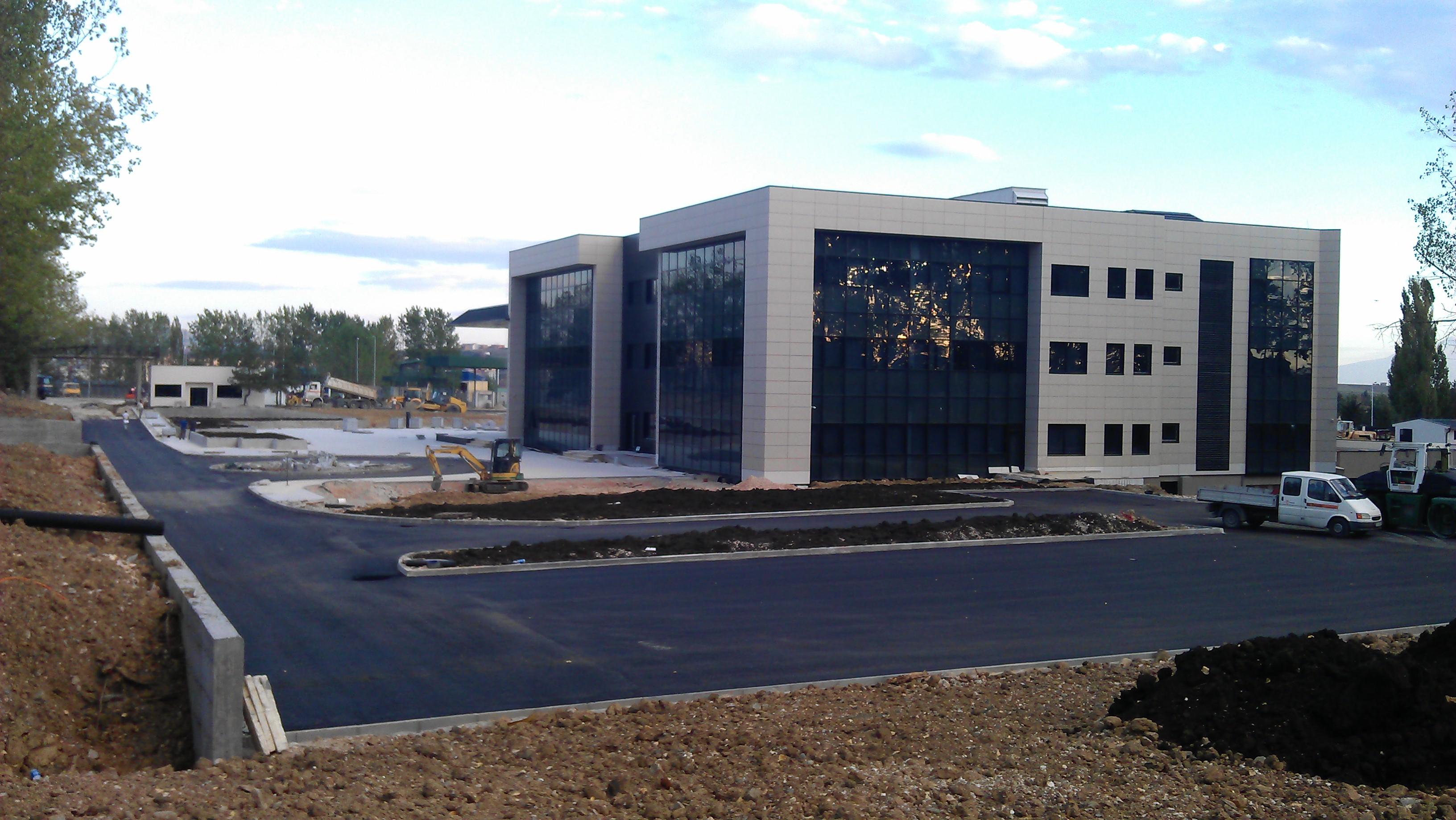 Heliodrom Parlor Adjustment Works, Entrance Gate and Completion of Installation Works in MKSF Building